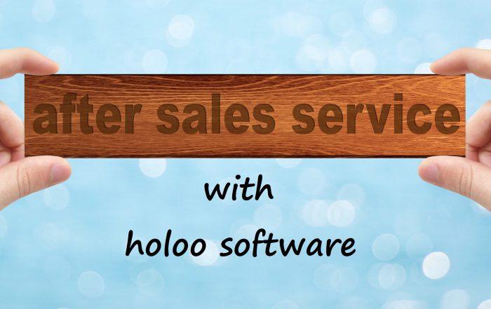 نرم افزار خدمات پس از فروش هلو