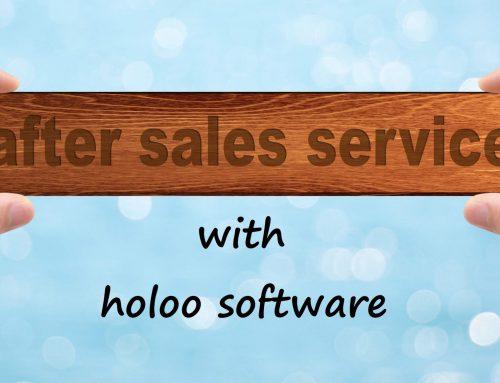 نرم افزار حسابداری خدمات پس از فروش هلو